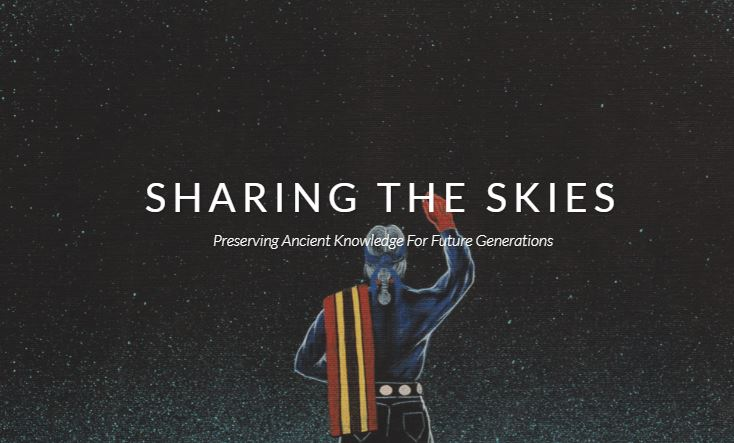 Sharing the Skies: Navajo Astronomy, a Cross-Cultural Look at Navajo and Western Astronomy