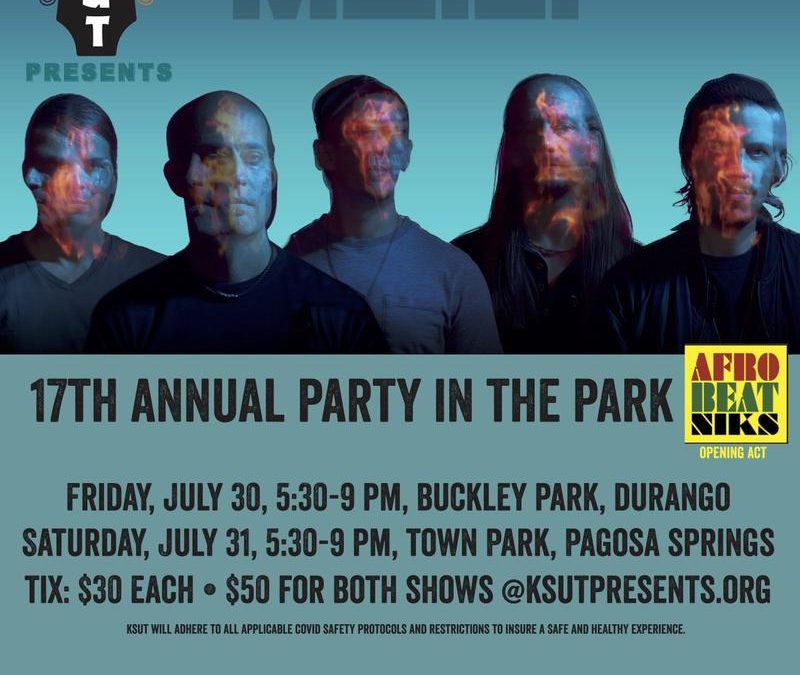 The Motet to Headline KSUT's 17th Annual Party in the Park, with Shows in Durango and Pagosa Springs
