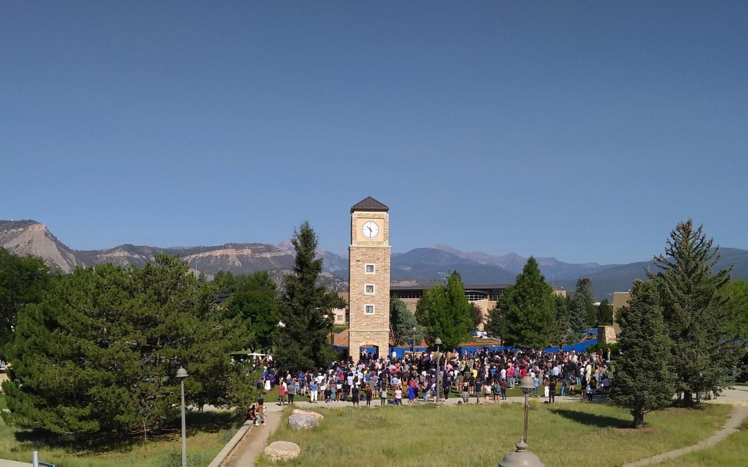 Fort Lewis College removes Indian boarding school panels from iconic clock tower, to correct inaccurate depiction and promote healing